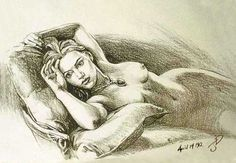 """The sketch that Jack drew of Rose wearing the famous necklace in the movie """"Titanic"""" was really drawn by director James Cameron. The hands that we see drawing the sketch are really Cameron's. Cameron was also responsible for all the other sketches that were in Jack's sketchbook."""