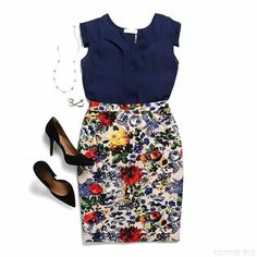 So cute! The flower print is adorable