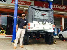 Mahindra Thar Di lifted 4x4 extreme off-roader