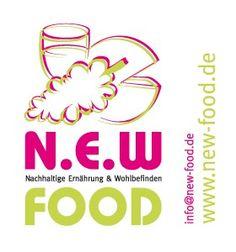 Entwicklung von Corporate-Designs für  Ernährungswissenschaftler bei  http://www.vision-Druckmedien.de  Hier das Logo von N.E.W FOOD  http://www.new-food.de