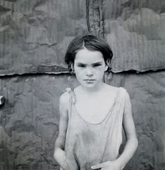 1936 Enfant abîmée, Shacktown Elm Grove Oklahoma http://monblog75.blogspot.fr/search/label/Photos%3A%20Dorothea%20Lange