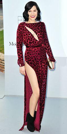Jessie J wearing Louis Heal