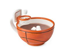 A mug with a basketball hoop looks playful, interesting and creative. It will delight any child and improve mood. The Mug with a hoop makes a nice gift and will look great on a kitchen island or on an office desk. Lushome presents this bright and unusual mug which is designed by a 9-year old schoolb