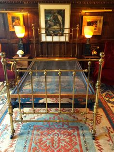 The Best Victorian Brass Single Bed 1800-1899