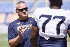 Unfamiliar view: Joe Wickline moving on up to coaches' booth