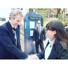 There is something to Capaldi that goes beyond the superficial. While many actors brush off fans who become flustered when they meet their heroes, Capaldi stays with his fans. He is known for comforting fans when they are too overwhelmed to speak, even to the point of literally drying their tears. He genuinely cares about them and is dedicated to spending time with anyone who meets him.