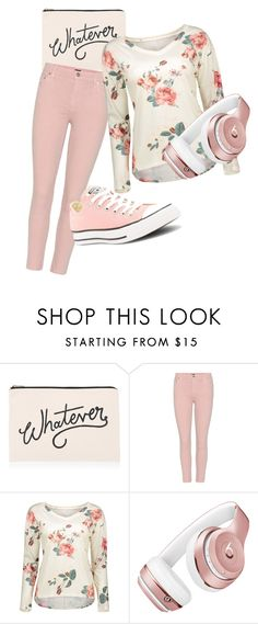 """Whatever Whenever"" by tjedge ❤ liked on Polyvore featuring ALPHABET BAGS, Citizens of Humanity, Beats by Dr. Dre and Converse"