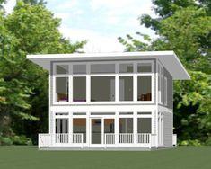 24x24 House -- #24X24H10C -- 1,066 sq ft