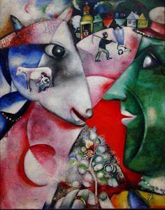 Marc Chagall, Io e il mio villaggio, 1911