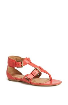 Corso Como 'Sangria' Calfskin Leather Sandal available at #Nordstrom