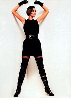 Gianni Versace, Harper's Bazaar, September 1991.