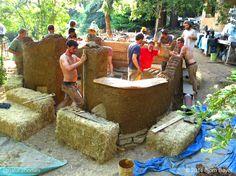 Cómo construir una casa de campo de cob: los 9 pasos principales