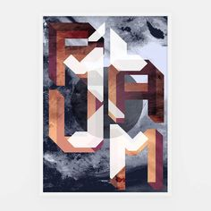 Old Prints - RAUM #illustration #lettering #typo #type #typography #geometria #geometry #geo #Space #espacio #Art #artwork #artprint #work #ilustración #design #designer #graphics #graphicdesign #instaart