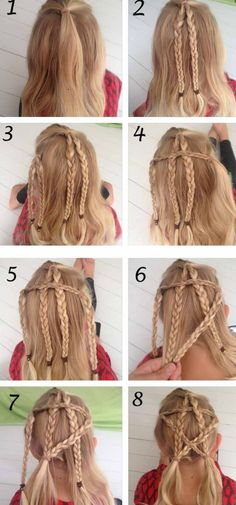 Stunning Looks With Hairstyles Step By Step Kids - Hairstyles Step By Step - Girls Hairdos, Cute Little Girl Hairstyles, Little Girl Braids, Braids For Kids, Girls Braids, Casual Hairstyles, Cute Hairstyles, Braided Hairstyles, Graduation Hairstyles