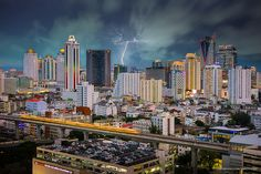 Bangkok's busy skyline is captivating in all kinds of weather