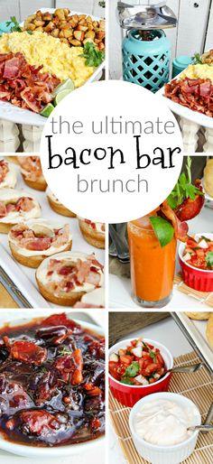 How to make the ultimate bacon bar including bacon Bloody Mary's, bacon jam, bacon tacos, and maple bacon donuts. SmithfieldBaconBar AD