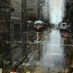 Jacob Dhein - Market Trolley in the Rain