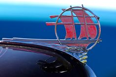 "1934 Plymouth ""Sailing Ship"" Hood Ornament"