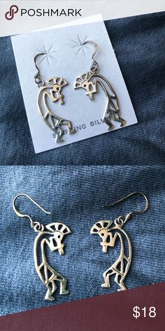 b5f643b5546 Shop Women s Silver size OS Earrings at a discounted price at Poshmark.