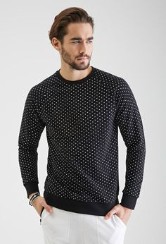 Gemêleerd Sweatshirt met Polka Dots - Sweatshirts & Hoodies - 2000099245 - Forever 21 EU