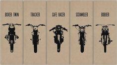 Boxer twin - tracker - Cafe Racer - scrambler - bobber  #GYSOT