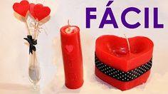 que recipientes se utiliza para hacer velas - YouTube