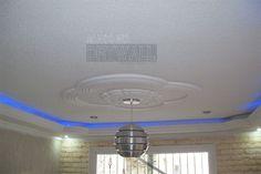 Gypsum, Drywall, Chandelier, Ceiling Lights, Home Decor, Interiors, Plaster, Candelabra, Decoration Home