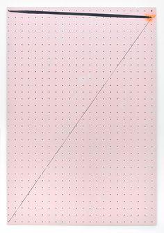 Shila Khatami - getroffen / 2012 / 80 x 55 cm / lacquer on hardboard