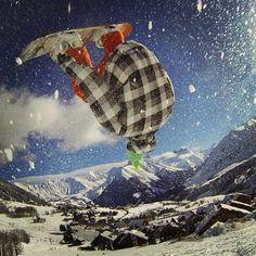 "@GoPro's photo: ""Snow explosion. Photo by Louis Mounis. #GoPro #snow #snowboard"""