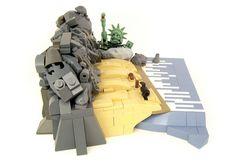 Sci-fi scenes in LEGO