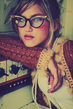 Pretty vintage eyeglasses