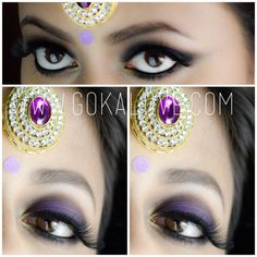 Indian Bridal Makeup by gokalove.com Check out our facebook page www.facebook.com/GokaLove.MakeupAndHair and check us out on Instagram @gokalovemakeupandhair