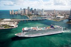 Norwegian Cruise Line's largest cruise ship, Norwegian Epic, is returning to Florida in November 2016 and will sail out of Port Canaveral for the first Cruise Tips, Cruise Travel, Cruise Vacation, Disney Cruise, Vacations, Cruise Destinations, Norwegian Epic, Norwegian Cruise Line, Norwegian Pearl