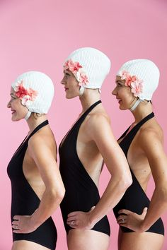 Best Group Costume Idea EVER. Synchronized Swimmers!