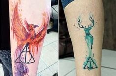 """39 Stunning Harry Potter Tattoos That Will Make You Say """"I Want That"""""""
