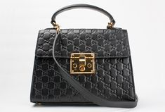 7e4d83a6516b What I love the most about my Gucci Padlock imitation is the debossed Gucci  signature leather with its beautifully defined print and firm texture.