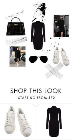 """""""Kendall Jenner"""" by inavictoria ❤ liked on Polyvore featuring adidas, Phase Eight, Hermès, women's clothing, women's fashion, women, female, woman, misses and juniors"""