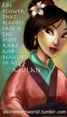 :D Day Your favorite heroine Who will go up against me if I say Mulan is my favorite heroine? Pocahontas, sure, but Mulan had the. Disney Pixar, Disney Amor, World Disney, Arte Disney, Disney And Dreamworks, Disney Films, Disney Love, Disney Magic, Disney Characters