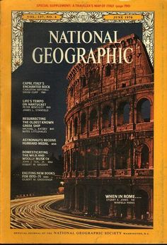 Photographic Print: Cover of the June, 1970 National Geographic Magazine by Winfield Parks : National Geographic Cover, National Geographic Photography, Enchanted Rock, Adventure Aesthetic, Cool Magazine, Magazine Covers, 21st Century Fox, Science Articles, Italy Map