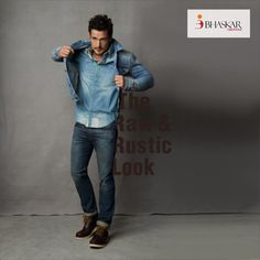 Any look, any feel you want...We have it all! Fine Denim Fabrics by #BhaskarDenims