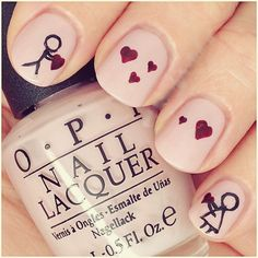 Romantic Valentine&rsquos Day Nail Artwork Designs & Ideas   Nail Design