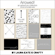 {laura kate is crafty}: Arrowed! - an adventure collection