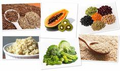 papaya y el kiwi, las legumbre, el arroz integral, la linaza y la quinoa (ésta última la compramos ya por sacos en casa) la contienen en altos niveles