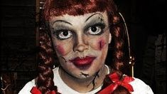 Annabelle Doll Costume Makeup Instructions