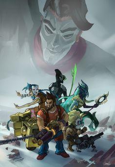 League of Legends ~ Borderlands