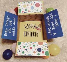 Birthday care package #military #deployment #girlfriendbirthdaygifts