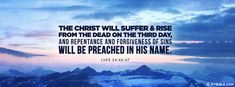 Preached In His Name [Christian Facebook Timeline Cover Photo]