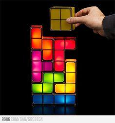 Tetris led lamp