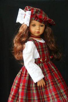 Highlands-Holiday-OOAK-Outfit-for-Effner-20-Maru-Friends-Glorias-Garden