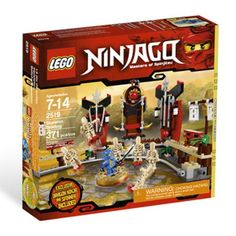 LEGO Ninjago Exclusive Special Edition Set #2519 Skeleton Bowling Includes Jay Dragon Ninja Mini Figure Spinner! LEGO http://www.amazon.com/dp/B004I69LVG/ref=cm_sw_r_pi_dp_QpsRvb0XFGKC5